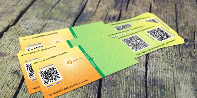 bitcoin paper wallet hogyan készítsünk papír tárcát bitcoin kriptopénzek mycryptoption