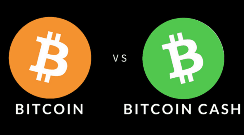 bitcoin vs bitcoin cash kriptopénz mycryptoption