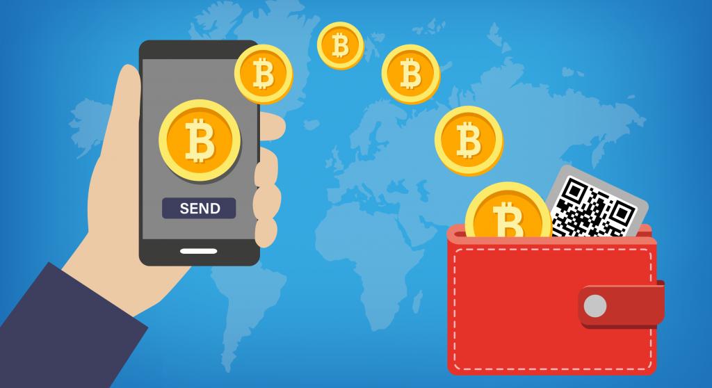 bitcoin wallet kriptopénz tárca mycryptoptoption