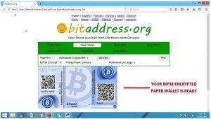 hogyan készítsünk bitcoin paper walletet kriptopénz mycryptoption