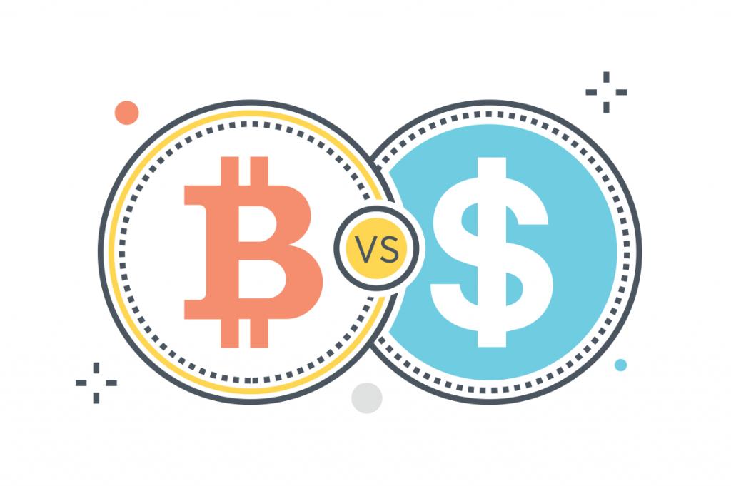 különbségek a bitcoin és hagyományos pénzek között kriptopénz mycryptoption