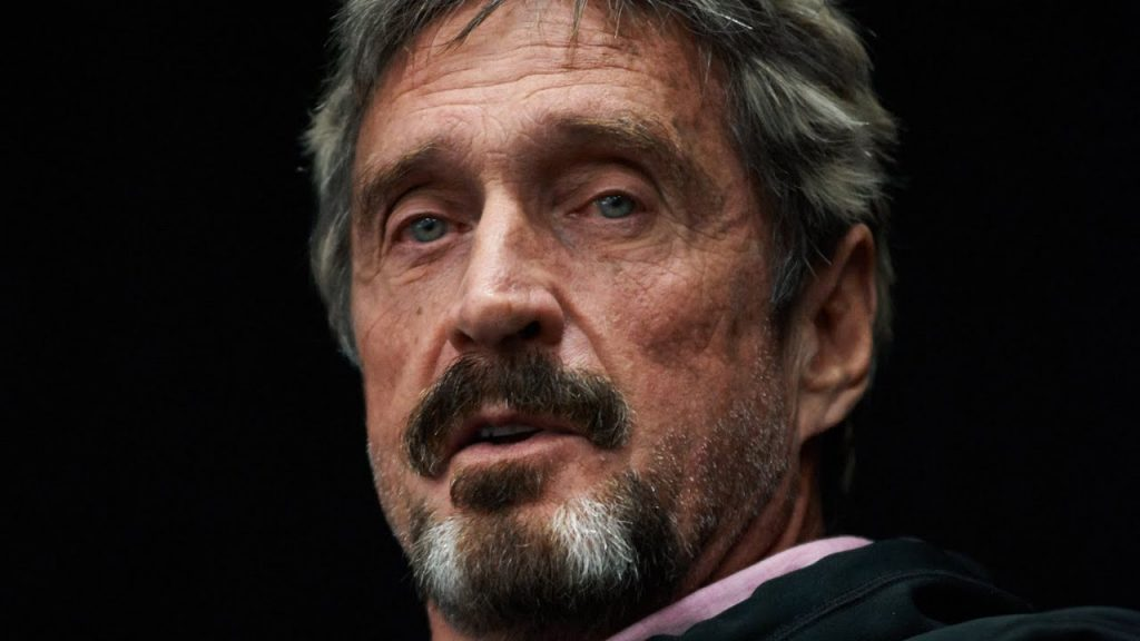 ki john mcafee kriptopénz bitcoin ethereum exchange dex mycryptoption