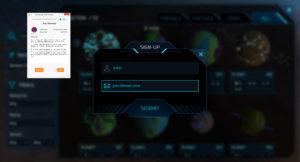0xUniverse blokklánc játék kriptopénz kriptovaluta hogyan működik hogy kell játszani űrhajó galaxis metamask ethereum blockchain mycryptoption2
