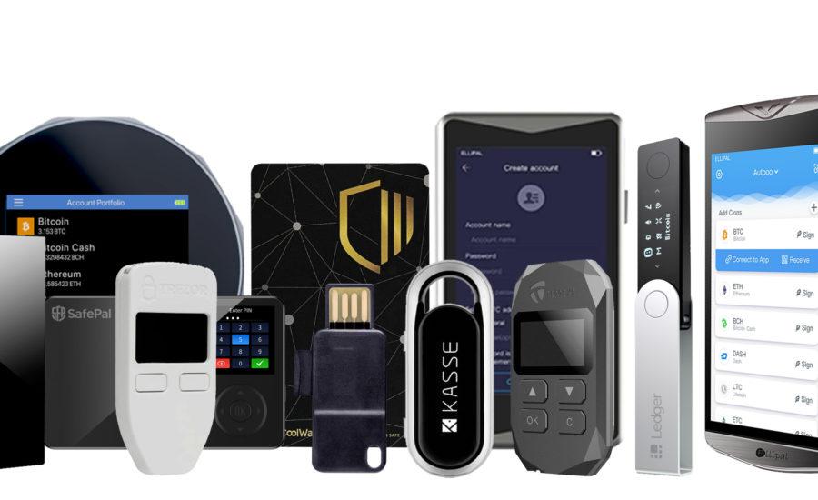 Cele mai bune 10 wallet-uri hardware pentru stocarea bitcoin și altcoins - Prezentarea și compararea wallet-urilor hardware hardver tárcák