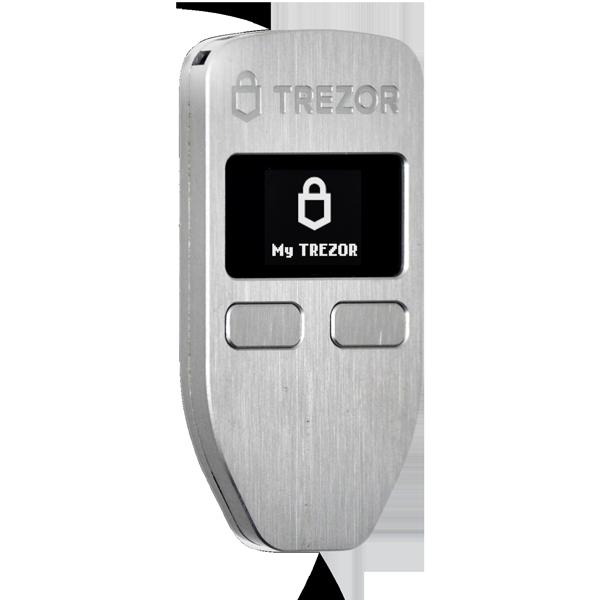 trezor one hardver wallet bitcoin altcoin pénztárca legjobb