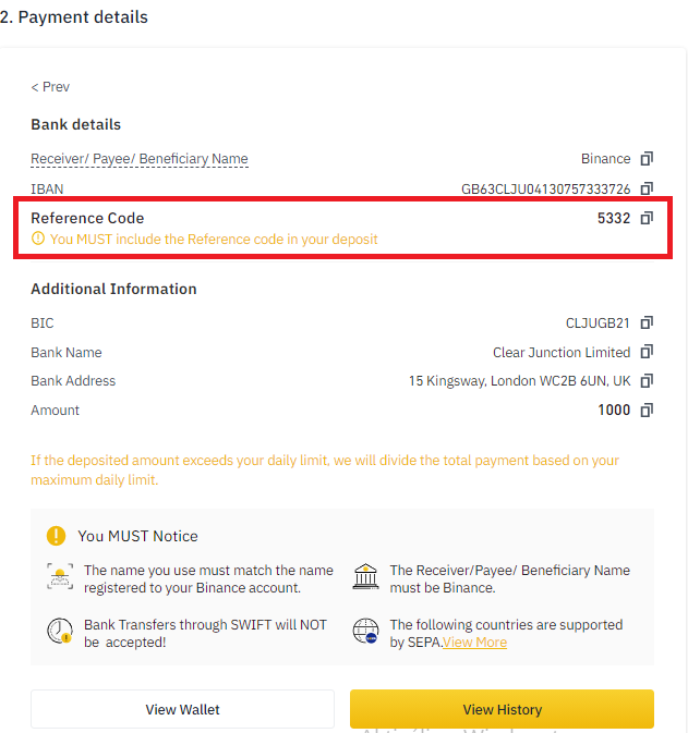 binance bitcoin vásárlás banki beutalás 3