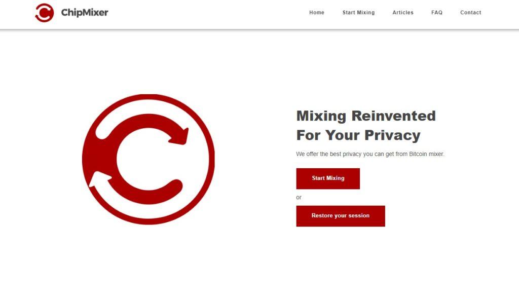 ChipMixer bitcoin mixer