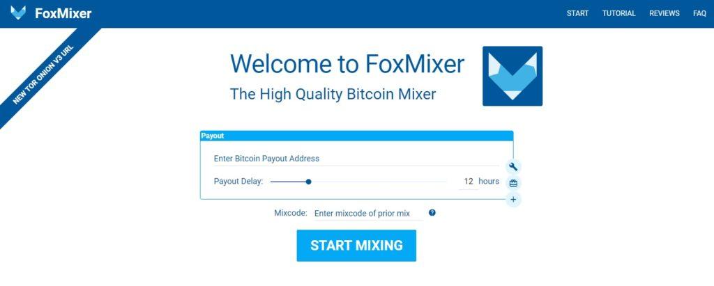 FoxMixer bitcoin mixer