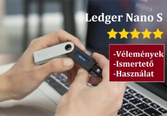 ledger nano s vélemények használata ismertető 23